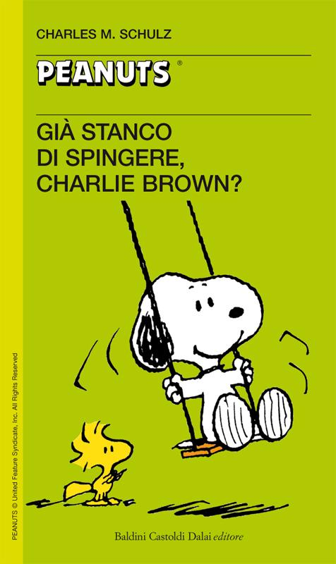 54 - Gia' stanco di spingere, Charlie Brown?