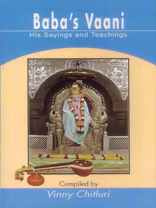 Baba's Vaani  : His Sayings and Teachings EB9788120790568