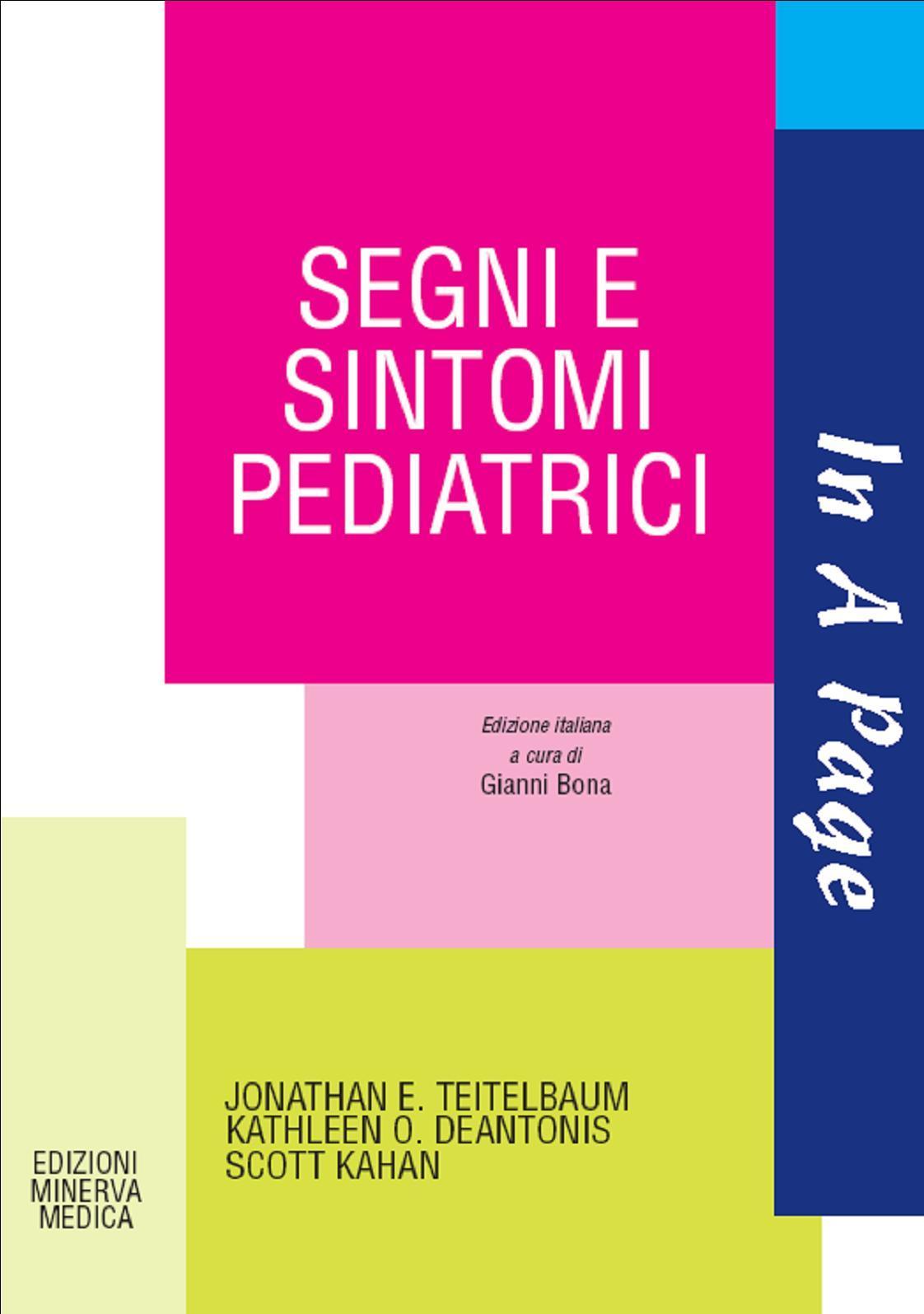 In a page Segni e sintomi pediatrici EB9788877116888