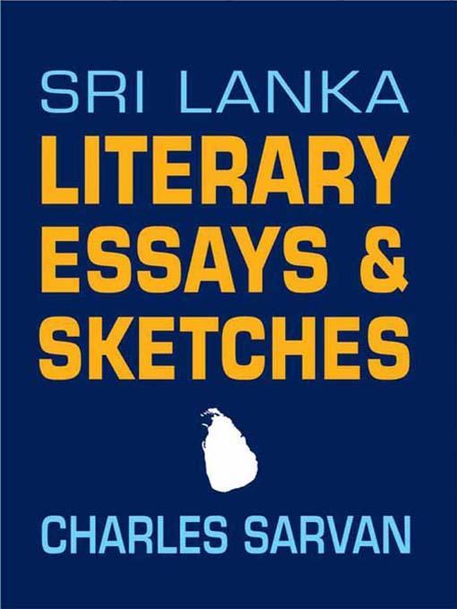 Sri Lanka Literary Essays & Sketches EB9788120790216