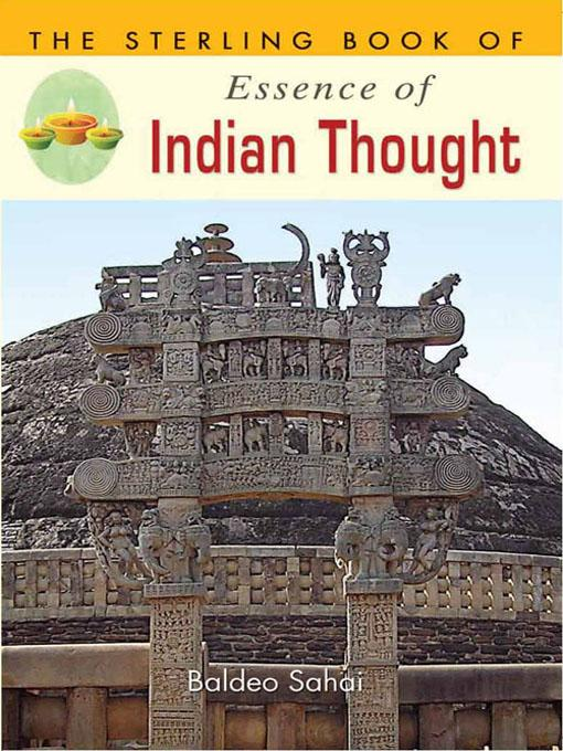 The Sterling Book of Essence of Indian Thought EB9788120790506