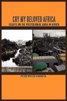 Cry my Beloved Africa EB9789956715985