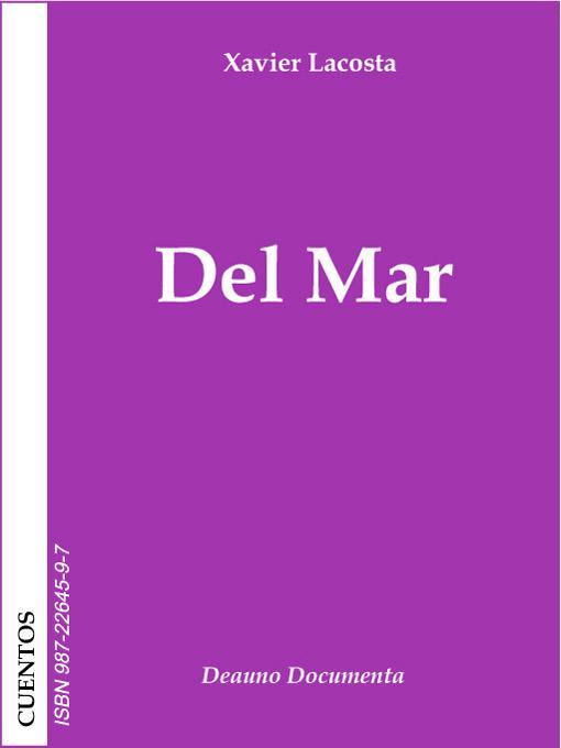 Del mar EB9789872264598