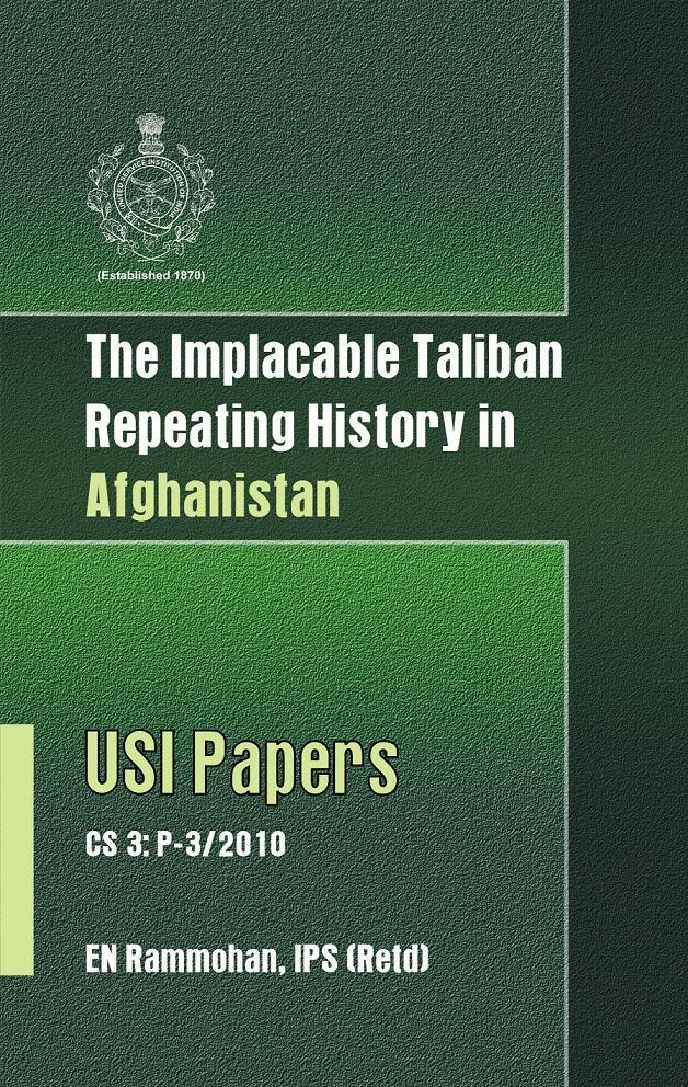The Implacable Taliban, Repeating History in Afghanistan EB9789381411810