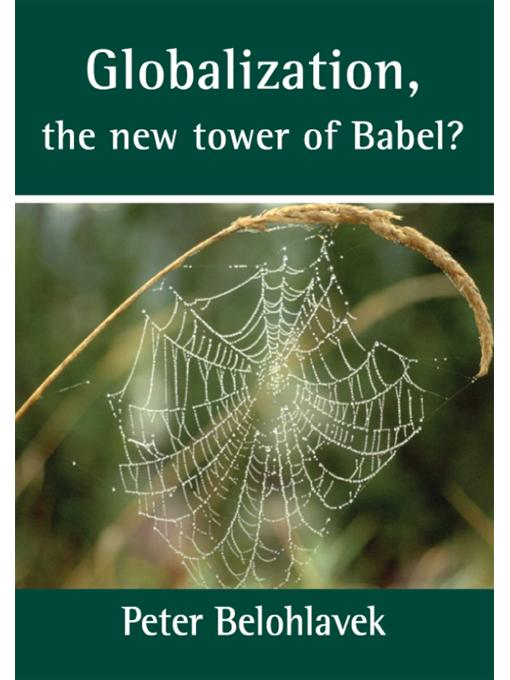 Globalization, the new tower of Babel? EB9789876510073