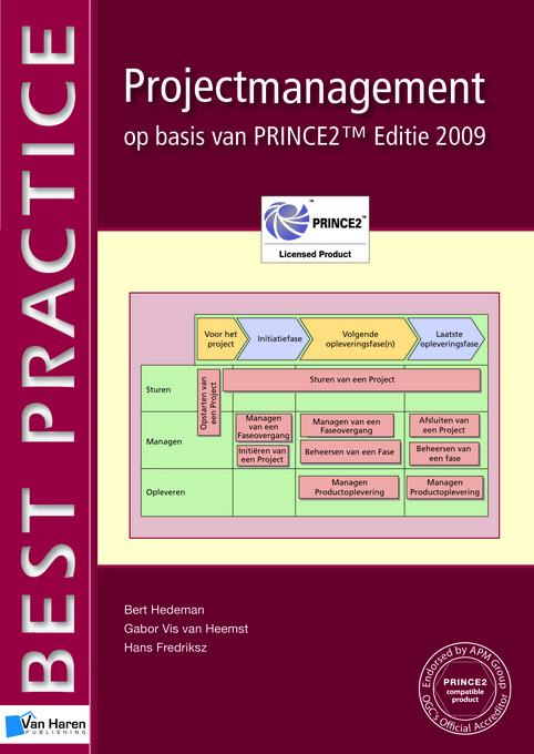 Projectmanagement op basis van PRINCE2? Editie 2009 EB9789087539030