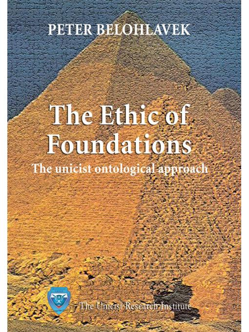 The ethic of foundations EB9789876510127