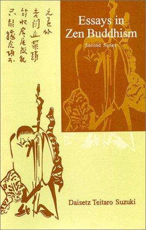 D.t. suzuki essays in zen buddhism