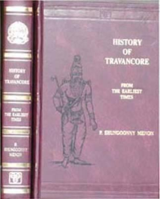 History of Travancore from the Earliest Times