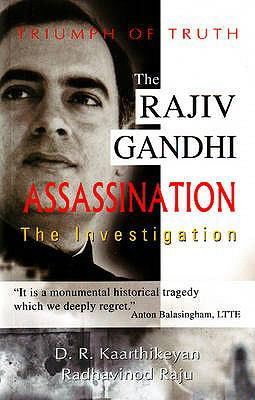 Rajiv Gandhi Assassination: The Investigation 9788120732650