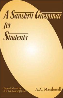 Sanskrit Grammar for Students 9788124600955