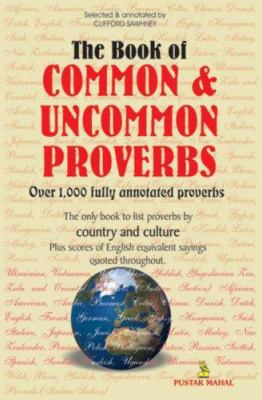 The Book of Common and Uncommon Proverbs 9788122308549