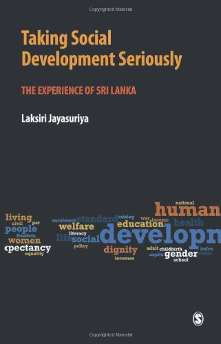 Taking Social Development Seriously: The Experience of Sri Lanka 9788132104650