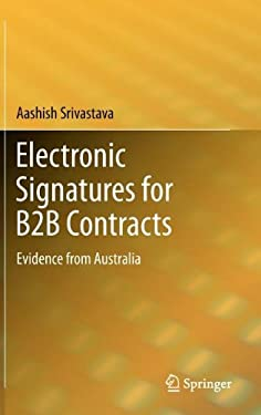 Electronic Signatures for B2B Contracts: Evidence from Australia