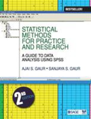 Statistical Methods for Practice and Research: A Guide to Data Analysis Using SPSS 9788132101000