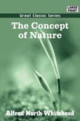 The Concept of Nature 9788132019596