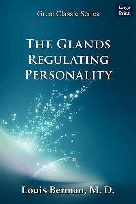 The Glands Regulating Personality 9788132010869