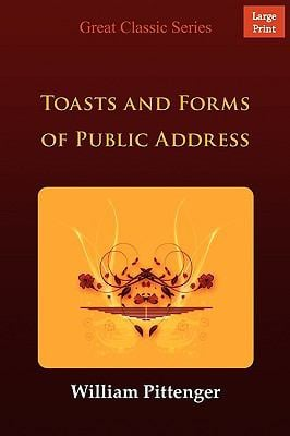 Toasts and Forms of Public Address 9788132001386