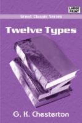 Twelve Types 9788132019442