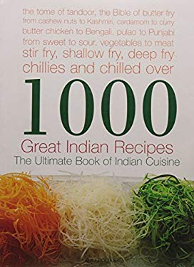 1000 Great Indian Recipes 9788174363459