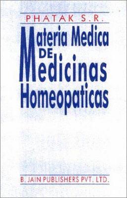 Materia Medica de Medicinas Homeopaticas 9788170219194