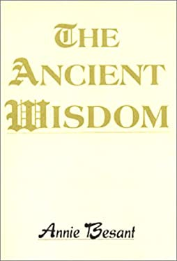The Ancient Wisdom 9788170592044