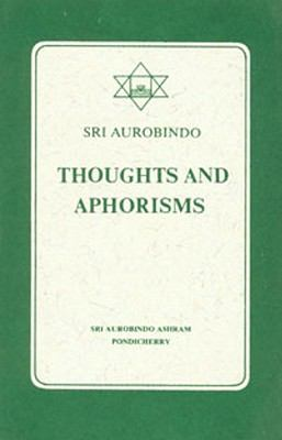 Thoughts and Aphorisms 9788170581086
