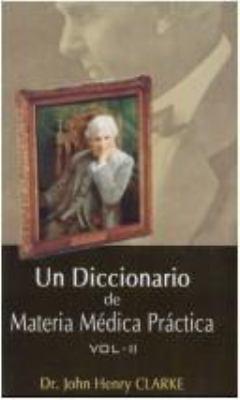 Un Diccionario de Materia Medica Practica 9788170218128