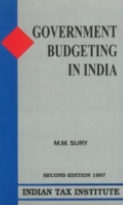 Government Budgeting in India 9788187046028
