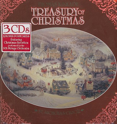 Thomas Kinkade Treasury of Christmas [With 6 Thomas Kinkade Postcards] 0628261230624
