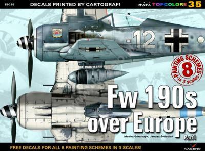 FW 190s Over Europe 9788362878574