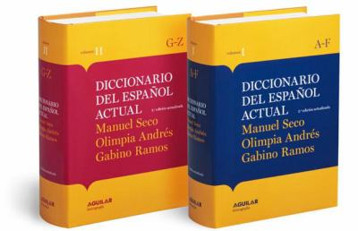 Diccionario del Espanol Actual 2 Volume Set 9788403097254