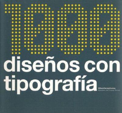 1000 Diseos Con Tipografia 9788425220364