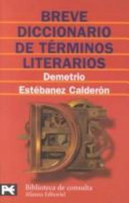 Breve diccionario de trminos literarios