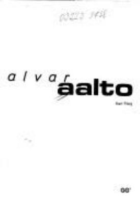 Alvar Aalto 9788425213984