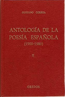 Antologia De La Poesia Espanola (Volume 2)