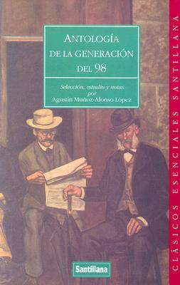 Antologia de La Generacion del 98 9788429453133