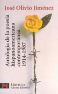 Antologia de la Poesia Hispanoamericana Contemporanea 9788420636085