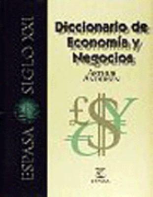 Diccionario Espasa Economia y Negocios 9788423994212