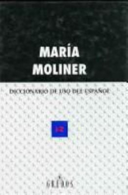 Diccionario de USO del Espa~nol 9788424919733