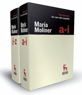 Maria Moliner Diccionario del Uso del Espanol 9788424928865