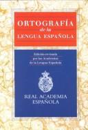 Ortografia de la Lengua Española