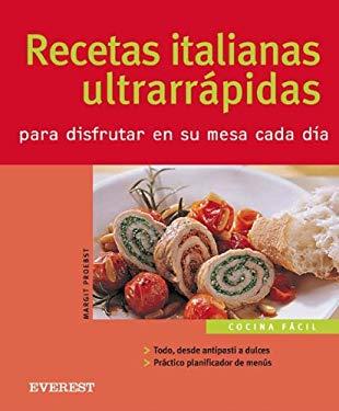 Recetas Italianas Ultrarapidas 9788424117092