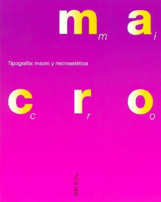 Tipografia: Macro y Microestetica 9788425215476