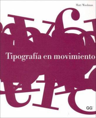 Tipografia En Movimiento 9788425220371