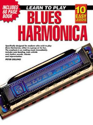 10 Easy Lessons Blues Harmonica DVD and Booklet in Case [With Booklet in Case]