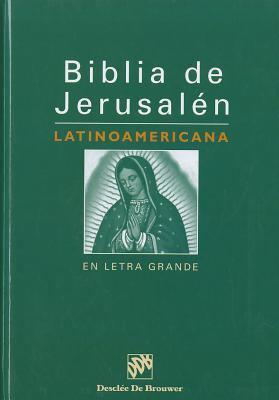 Biblia de Jerusalen Latinoamerican En Letra Grande-OS 9788433017987