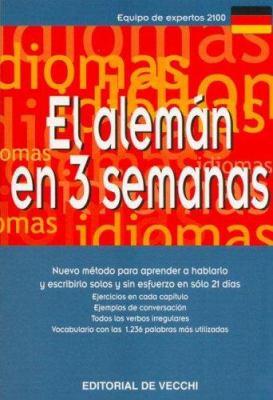 El Aleman En 3 Semanas 9788431509064