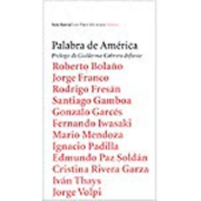 Palabra de America / Words from America