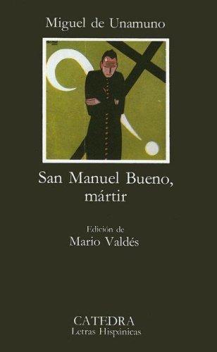 San Manuel Bueno, Martir 9788437601854